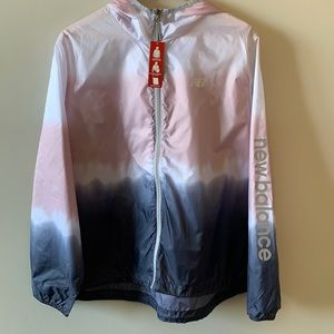 🆕New Balance Wind Water Resistant Ombré Jacket 2X